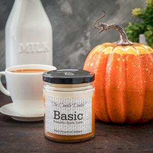 Basic - Funny Pumpkin Spice Latte Jar Candle